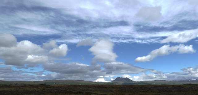 Clouds and Big Sky on a Self-Drive Day Trip Along Iceland's South Coast
