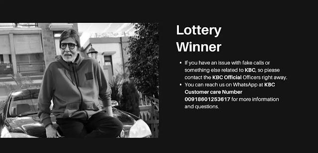 kbc lottery winners details