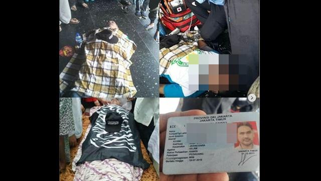 Seorang Mujahid Reuni 212 Meninggal Dunia, Netizen Doakan Khusnul Khotimah