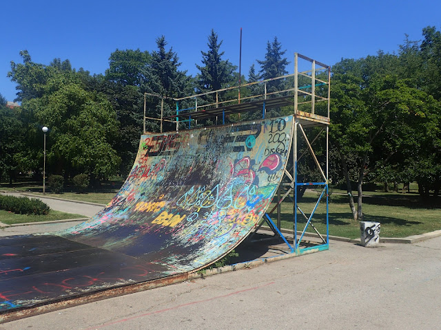 Skatepark w bułgarskiej stolicy wygląda klimatycznie!