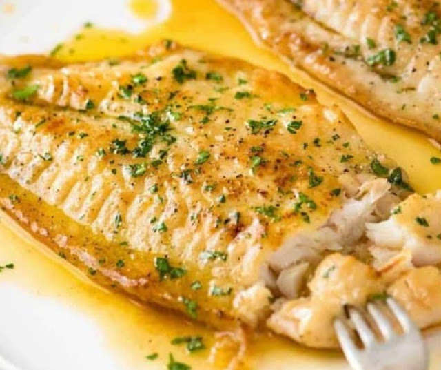 LEMON BUTTER SAUCE FOR FISH
