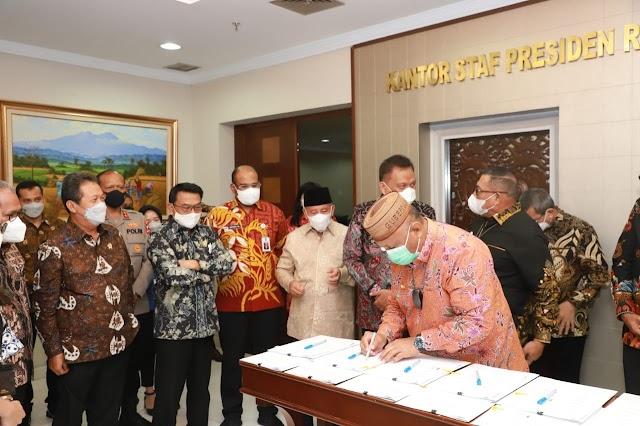 Menteri Trenggono Ajak Pemda Kelola SDA Kelautan  Secara Berkelanjutan