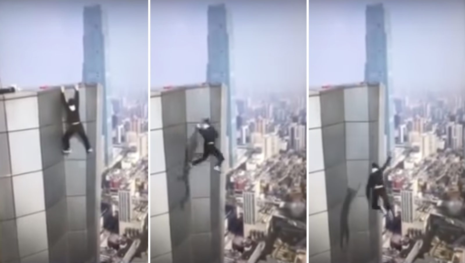 Daredevil falls to his death in China while trying to take an 'extreme selfie'