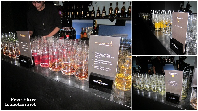 free flow at Moët Hennessy Diageo Media Appreciation Night