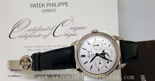 FOR SALE : PATEK PHILIPPE GRAND COMPLICATION PERPECTUAL CALENDAR PP 5270 WHITE GOLD