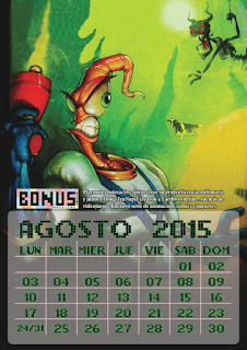 Bonus Stage Magazine: Calendario 2015