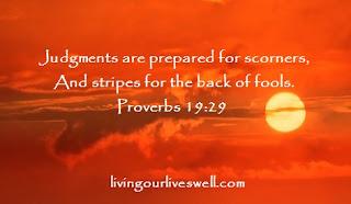 Proverbs 19:29