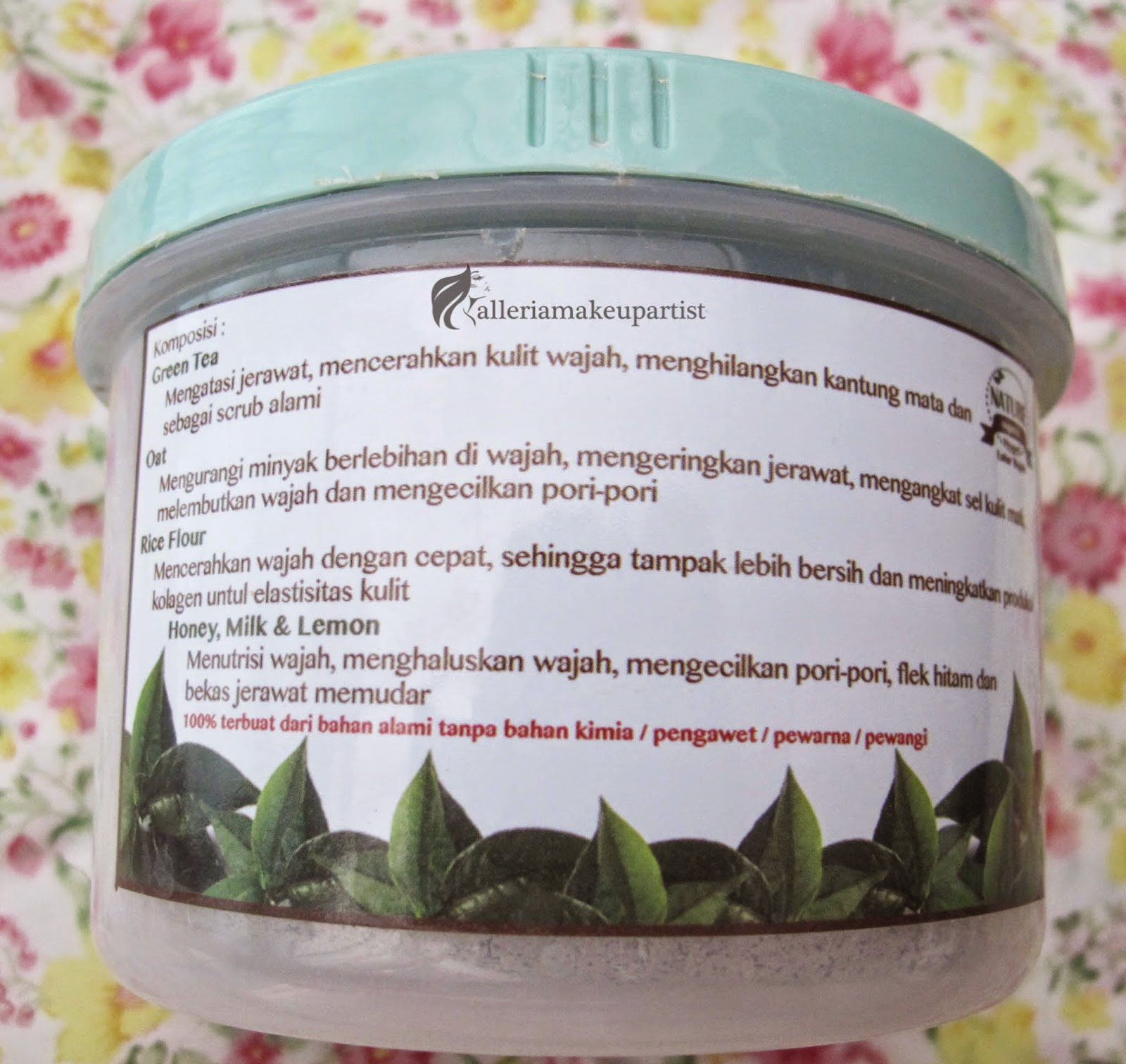 NATURE ORGANIC LULUR WAJAH - REVIEW