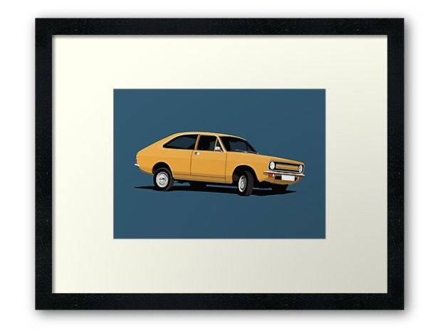 Morris Marina Coupé - print - home decor