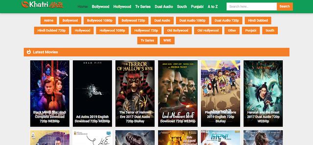 Khatrimaza Hollywood & Bollywood Movie Downloading Website