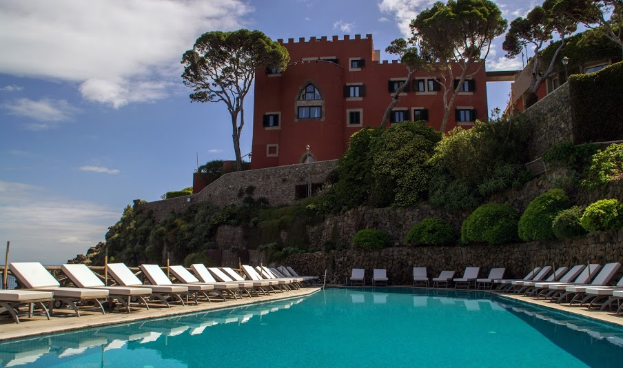 Mezzatorre Resort and Spa Ischia Italy Swimming Pool
