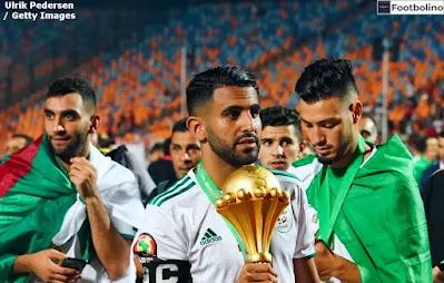 عدد اهداف رياض محرز مع المنتخب الجزائري