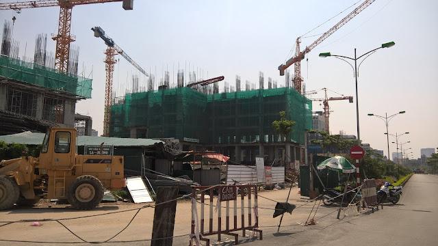 Tiến độ xây dựng An Bình City Phạm Văn Đồng