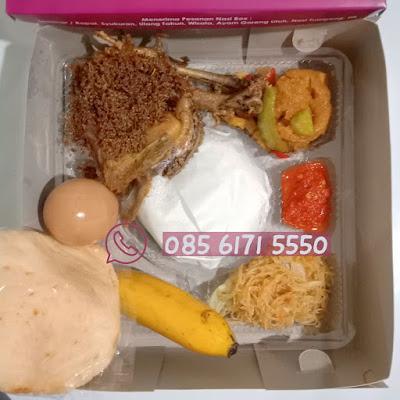 paket menu nasi box untuk syukuran jogja