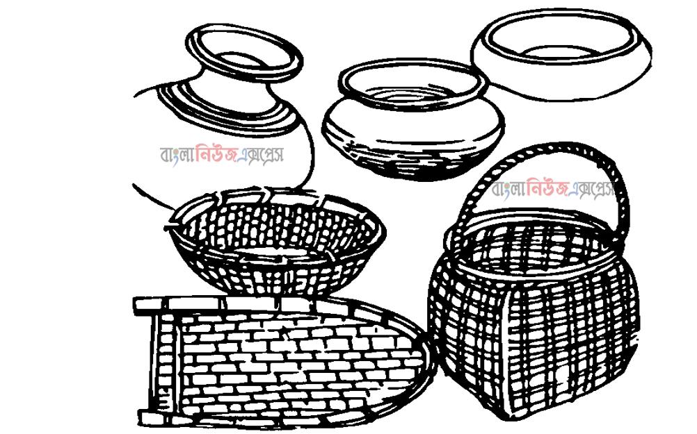 তােমার বাসায় যেসব কারুশিল্প রয়েছে, পেনসিলের মাধ্যমে সেগুলাের রেখাচিত্র অঙ্কন কর।https://www.banglanewsexpress.com/