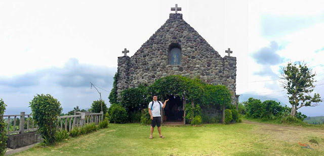 Feels like heaven in Mt. Carmen Chapel of Batanes