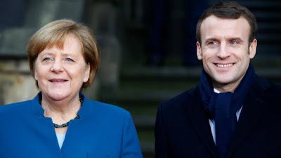 Меркель і Макрон зробили спільну заяву щодо мінських угод