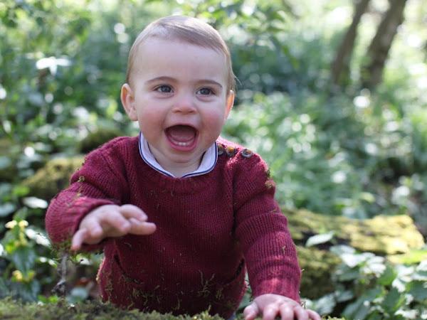 Nowe zdjęcia księcia Louisa z okazji 1 urodzin!