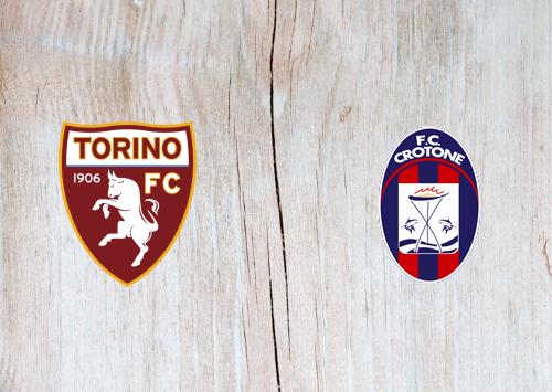 Torino vs Crotone -Highlights 08 November 2020