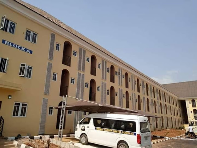 US-Based Nigerian Built A World-Class Students' Hostel In Anambra University (Photos)