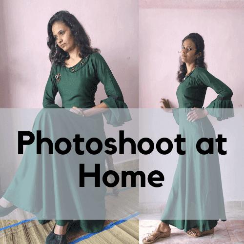 Photo Shoot at Home