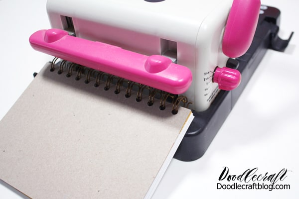 The Cinch binding tool from We R Memory Keepers