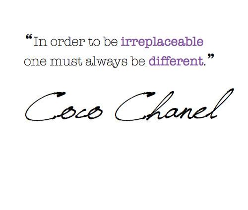 wildoneforever.com, wildoneforever, wildone forever, The Wisdom of Coco Chanel, Attitude, Beauty & Style