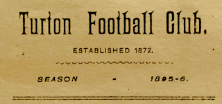 Turton Football Club - Season 1895-6