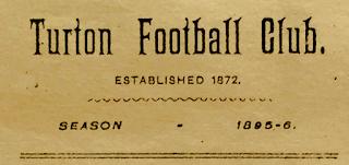 Turton Football Club - Season 1895-6