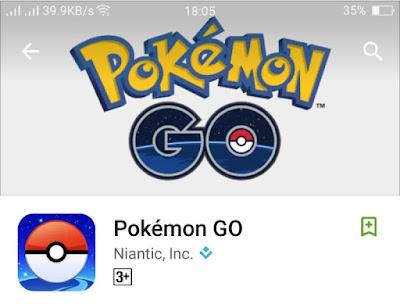 download pokemon go di play store