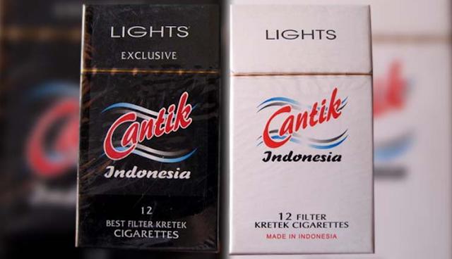rokok unik cantik