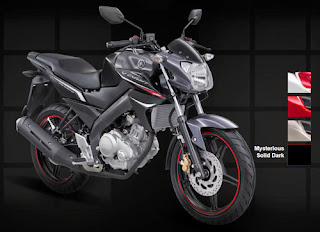 Yamaha New Vixion Mysterious Solid Dark