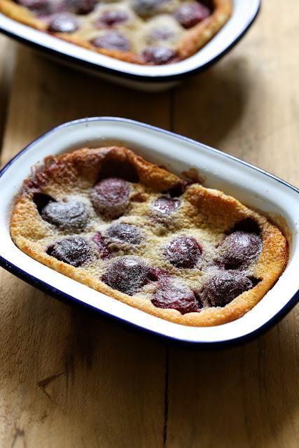 clafoutis , recette de Philippe Conticini , dessert classique , recette fançaise