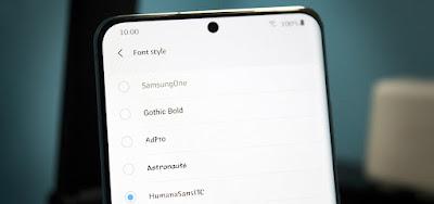 Cara Mengatasi Font Tidak di dukung dan Mengganti Font di Hp Samsung Galaxy