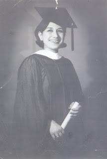صافي ناز كاظم في حفلة تخرجها