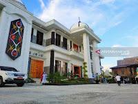Rumah Jabatan Bupati Kotawaringin Timur Termegah di Kalteng