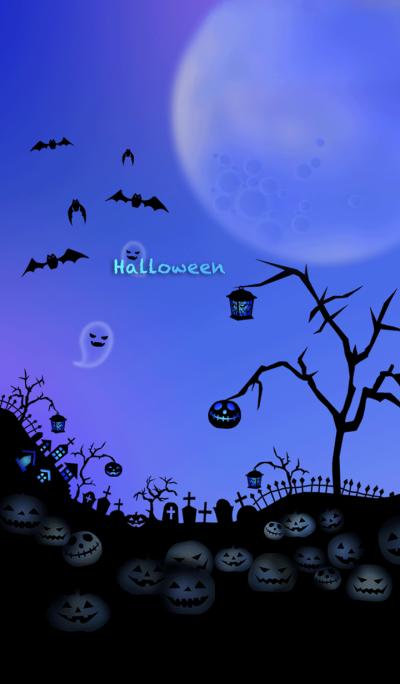 - Blue Halloween -