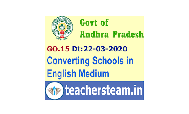 Converting all Government schools  classes from I to VI in Primary, Upper Primary, High Schools in AP