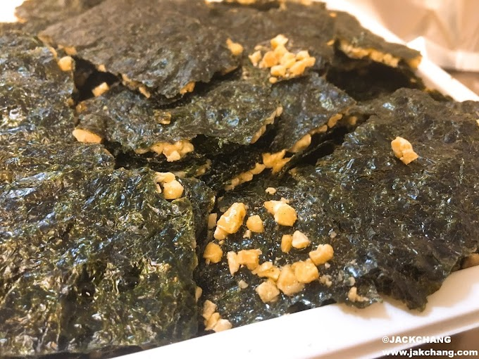 食|新藻海苔杏仁脆片-零食推薦