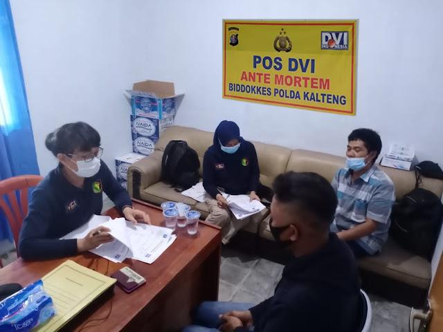 Tim DVI Biddokkes Bantu Evakuasi dan Identifikasi Jenazah Korban Laka Tambang