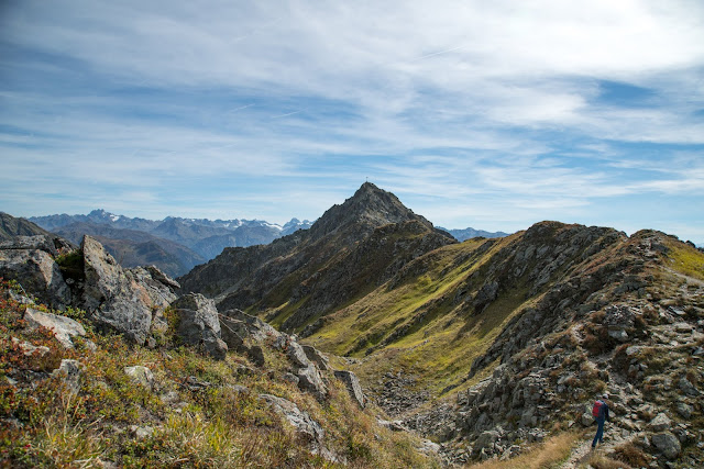 Gipfelweg Zamangspitze  Wandern Silvretta-Montafon  Vorarlberg 10