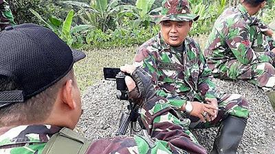 TNI Ini Bersyukur Diberi Kesempatan Bantu Warga