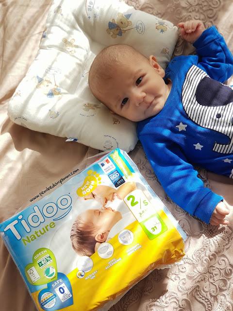 Tidoo organik bebek bezi