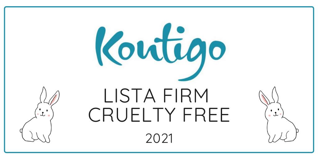 KONTIGO - LISTA FIRM CRUELTY FREE 2021