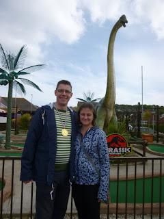 Jurassic Adventure Golf in Swanage