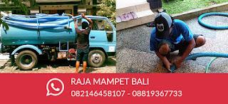 Raja Mampet Bali -  Jasa WC Mampet - Sedot Wc Bali