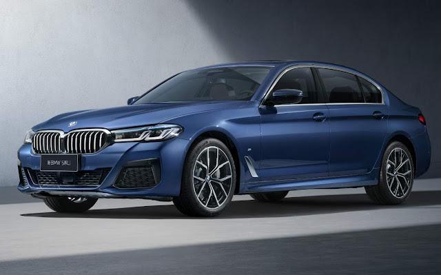 BMW Série 5 ganha versão longa para enfrentar o Audi A6L