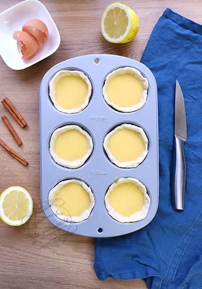 comment faire des pastels de nata