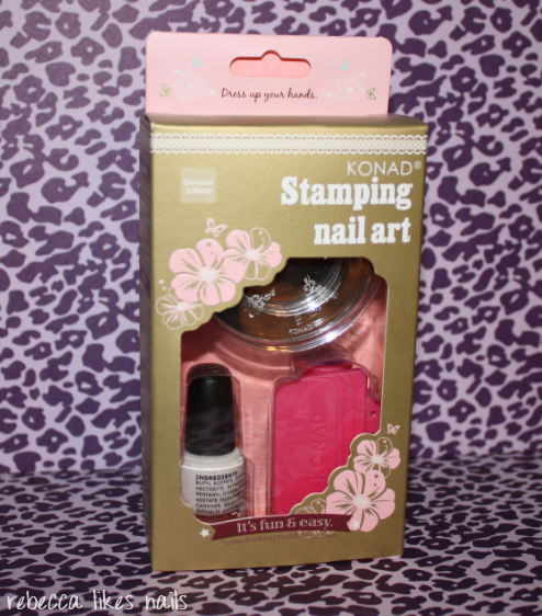 Rebecca Likes Nails: Konad Kit From Nail Polish Canada