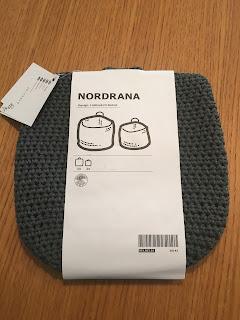 IKEA NORDRANA バスケット2点セット